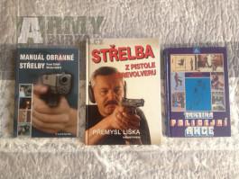 Knihy s tématikou střelby a sebeobrany
