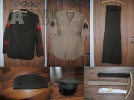 USMC Service Dress komplet