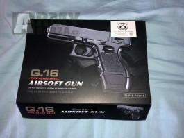 Airsoft pistole G.16