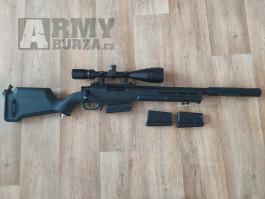 Sniper HPA + pistole v upgradu