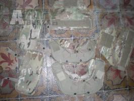 MC US Army multicam IOTV vesta krk bederák a ramena