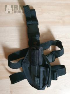 Nepoužité nové pouzdro na pistoli stehenní /P226,G26,P99/ - černé - Strike