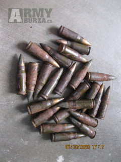 MP44 /STG44  střelivo 7,92/33 druhoválečné.