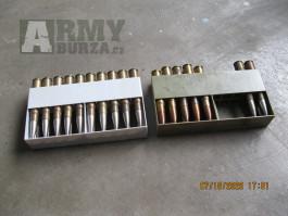Vojenské střelivo 8x57 JS + pár civilních.