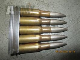Carské Rusko střelivo 7,62x54 R - Mosin Nagant