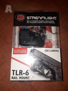 Streamlight TLR-6 pro Glock s railem