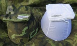 Potah na helmu vz.95 + sněžný (bílý) - set