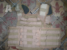 Nosič plátů PARACLETE ARMOR PLATE CARIER  seals US army ESAPI