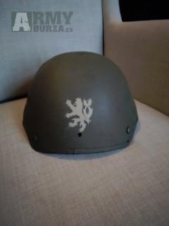 Balistická mid-cut helma/přilba