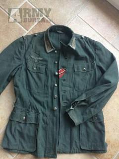Koupím bluzu M 4.. Drilich Wehrmacht