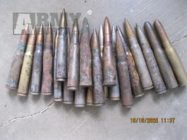 Druhoválečné střelivo  za symbolickou cenu - horší stav.