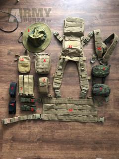 Taktická vesta, sumky, pouzdra, organizér, batoh