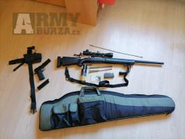 Prodám odstřelovací pušku M24 + sekundární zbraň
