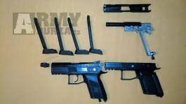 Prodám 2 Cz-75 P07 GBB a GNB (na díly)
