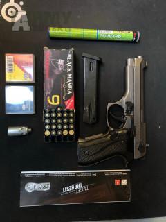 Plynová pistole Ekol jackal dual