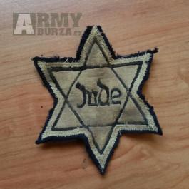 Židovská hvězda z války- Davidova hvězda