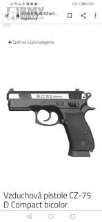 Cz 75 duty 4.5 mm co2