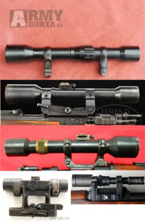 koupím staré puškohledy a dalekohledy