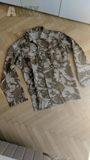 Britské uniformy (kalhoty, blůzy, smocky) DPM woodland/desert a MTP - již nedostupné velikosti