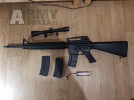 Airsoft puška m16