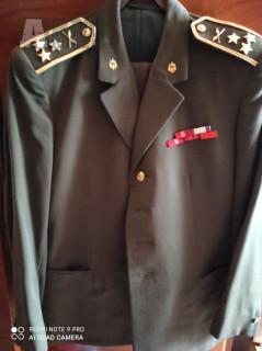Uniformy ČSLA ženisty