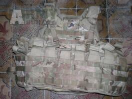 MC multicam IOTV vesta US Army top stav molle II