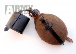 Originál německá polní lahev Wehrmacht 1943 plechová