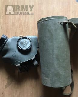 Plynově masky z 50 let.