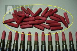 Dřevěné střely 7,92mm Mauser