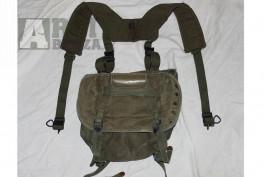 Vietnam U.S. Buttpack M1961 + H Suspenders M-1956 (Originály)