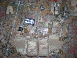 Warrior multicam pathfinder chest ring assault systems M4 AR15