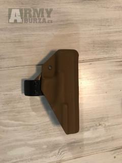 Vnitřní apendixové pouzdro na glock 19/19x