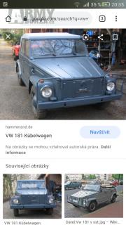 Volkswagen 181 kubelwagen