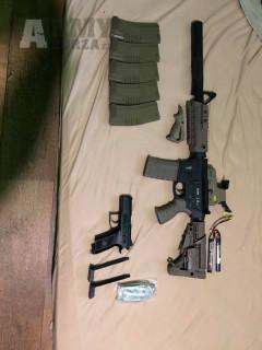 CAA M4 Carbine FDE, King Arms