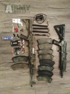 AK 74 a AK 47