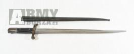 Koupím bajonet, bodák Steyr M1886 Kropatschek