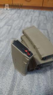 Zásobníky M4 tlačáky