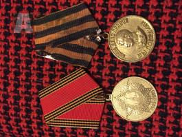 2x Medaile SSSR