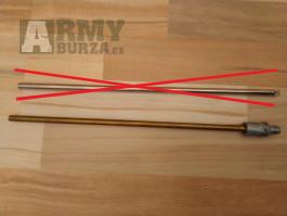 Původní vnitřní hlaveň z M249 s hopup komorou