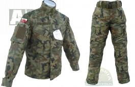 Polská uniforma wz.93/PL woodland model 2010