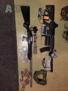 M4 cqb + MB03 a vybavení