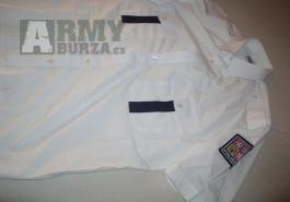policejní košile bílá