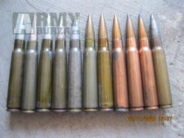 Druhoválečné Německé střelivo 7,92X57
