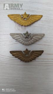 Čepicový odznak - křídla