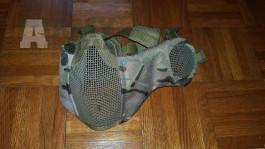 Maska/náhubek s krytem přes uši - Multicam