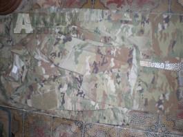 US army OCP scorpion blůza kalhoty XL long U.S.
