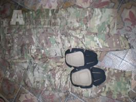 US army OCP scorpion combat pant flame resist - bojové kalhoty  USA CRYE nákoleníky