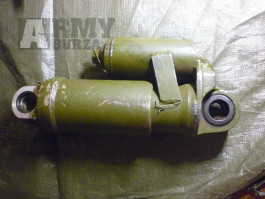 Vojenský tlumič nárazů pro post-sovětské pásové vozidlo