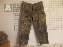 Bundeswehr flecktarn kalhoty