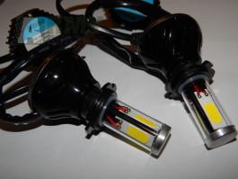 Led Xenon H7, H1, H4, H11 výsoké kvality s větráčkem. Nehlási chýby !!! nová generace